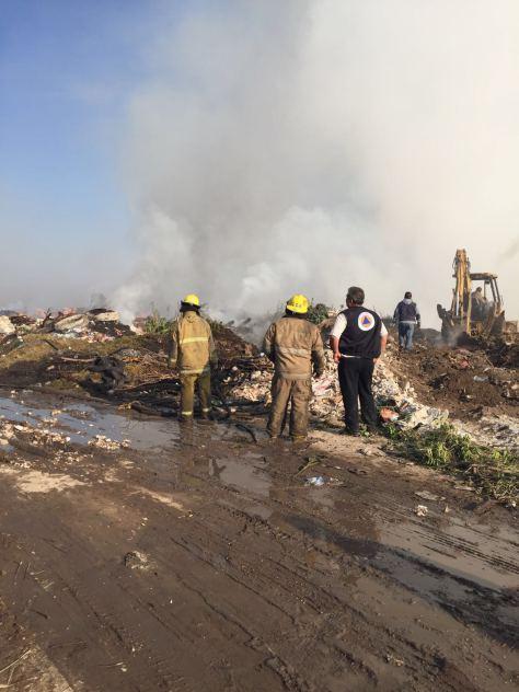Sospechan Que Incendio En Coacalco Fue Provocado Hola