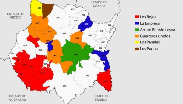 Mapa Morelos Est 225 Infestado De Crimen Organizado Hola