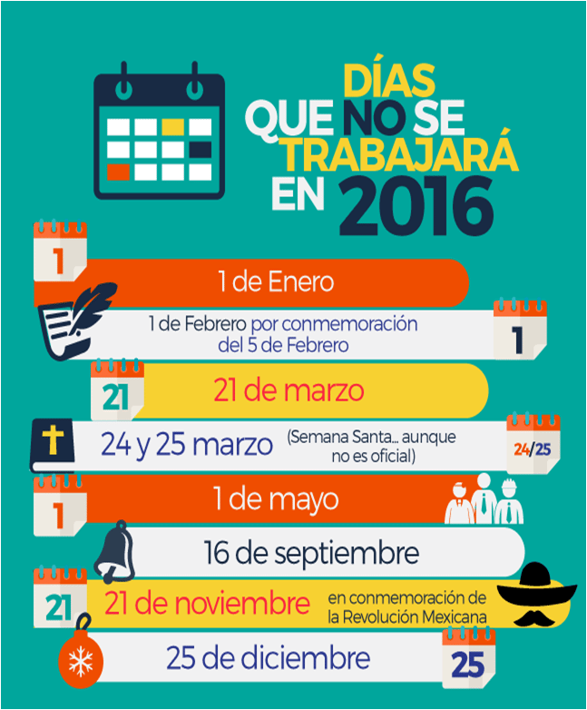 Descanso Obligatorio En Mexico 2016 | Search Results | Calendar 2015